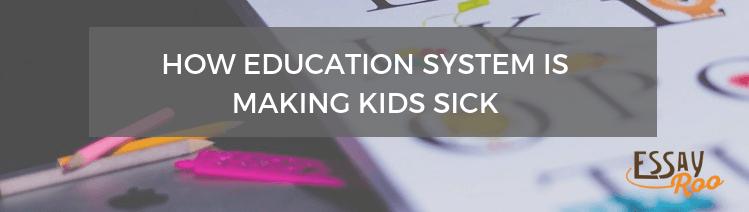 Australian education system is making kids sick