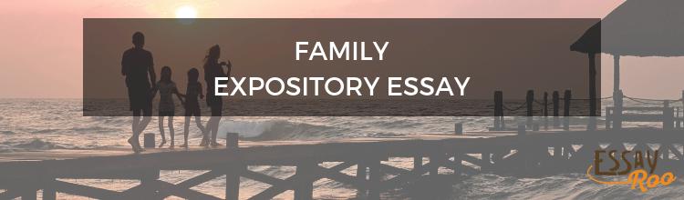 Family expository essay